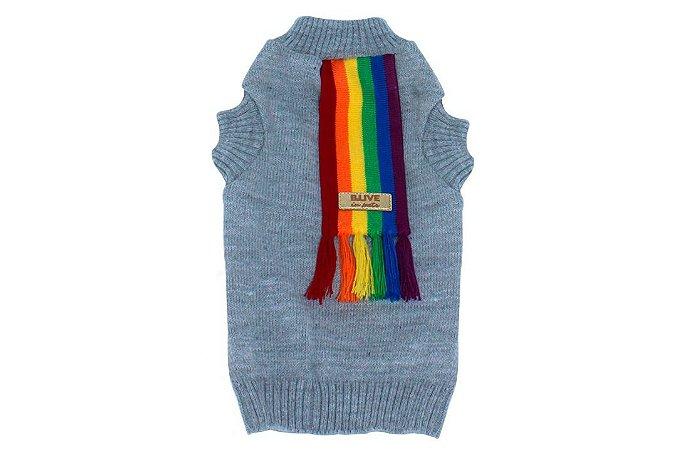 Suéter com Cachecol