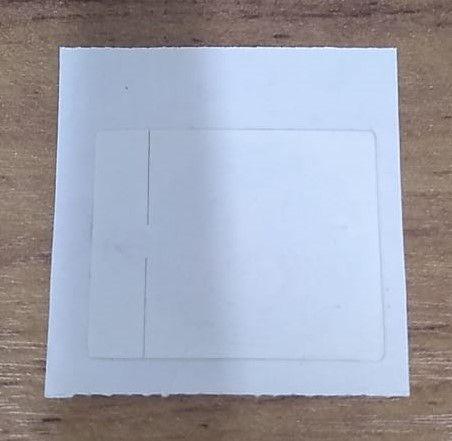TAG RFID 13,56 MHz no formato etiqueta