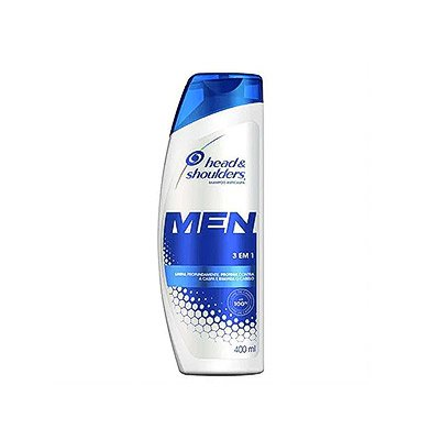 HEAD E SHOULDERS MEN 3 EM 1 200ML