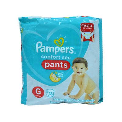 PAMPERS CONFORT SEC PANTS G
