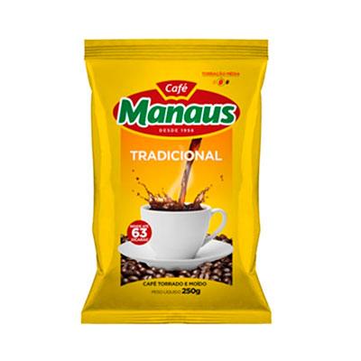 CAFÉ  250G MANAUS ALMOFADA