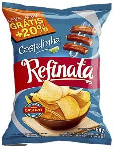 BATATA FRITA 54G REFINATA COSTELINHA SACHÊ