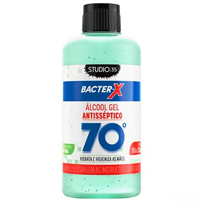 ÁLCOOL GEL 70% 100ML STUDIO 35 VERDE ALOE VERA