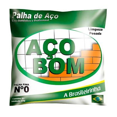 PALHA DE AÇO BOM NO 0 1X20X22G