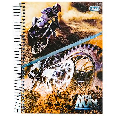 CADERNO 10 MATÉRIAS CD SUPERMAX