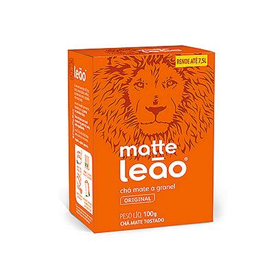 CHÁ LEÃO MATTE 100G NATURAL GRANEL