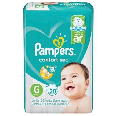 PAMPERS CONFORT SEC G