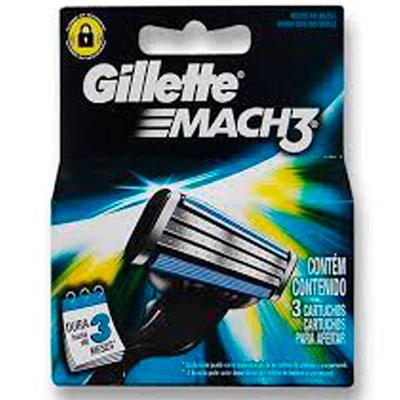 GILLETTE MACH3 CARGA REGULAR