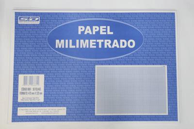 PAPEL MILIMETRADO C/ 50FLS 320X470