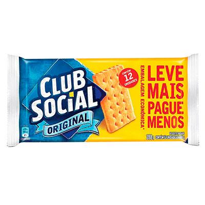 BISCOITO CLUB SOCIAL ORIGINAL 288G UN