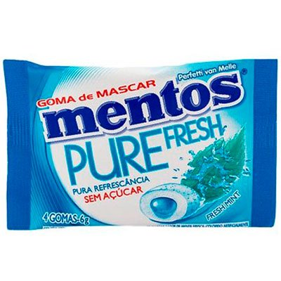 CHICLETE MENTOS FRESS MINT 90G