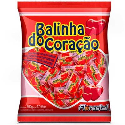 BALINHA DO CORAÇÃO 500G FLORESTAL