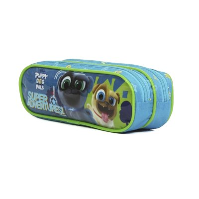 ESTOJO PUPPY DOG PALS DISNEY SOFT 2 DIVISÓRIAS