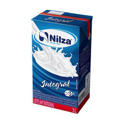 LEITE UHT INTEGRAL 1LT S/TAMPA NILZA