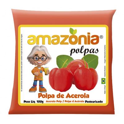 POLPA DE ACEROLA PACOTE 100G AMAZÔNIA