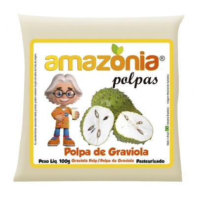 POLPA DE GRAVIOLA PACOTE 100G AMAZÔNIA