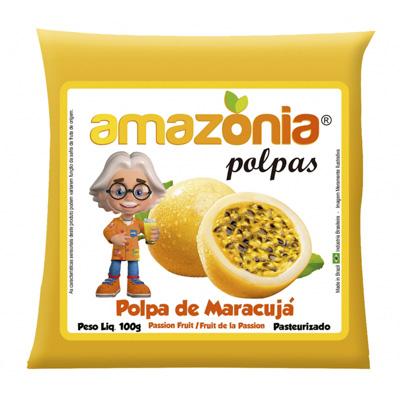 POLPA DE MARACUJÁ PACOTE 100G AMAZÔNIA