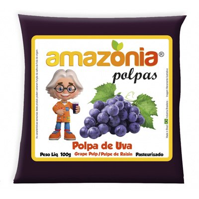 POLPA DE UVA PACOTE 100G AMAZÔNIA