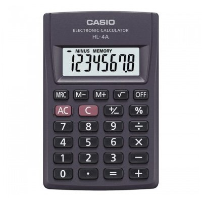CALCULADORA DE BOLSO CASIO HL-4AS4DP