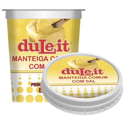 MANTEIGA COMUM 500GR C/SAL DULEIT