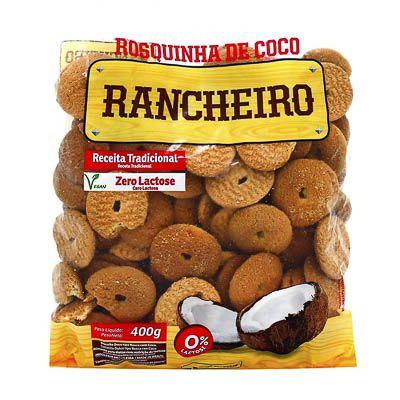 ROSQUINHA COCO RANCHEIRO 400G