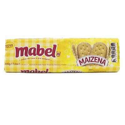 BISCOITO MABEL MAIZENA 200G