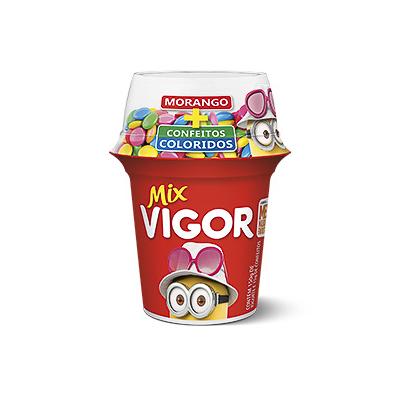 IOGURTE MIX MORANGO COLORBALL VIGOR 165G POTE