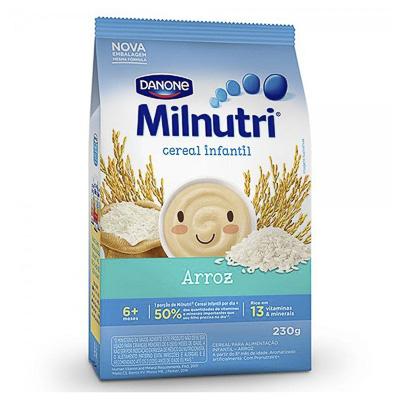 CEREAL INFANTIL MILNUTRI ARROZ 230GR PACOTE