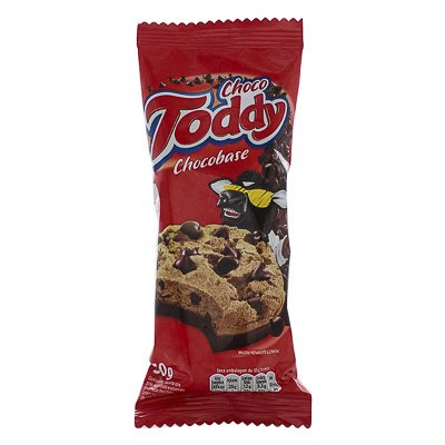 BISCOITO TODDY COOKIES CHOCOBASE 50G PACOTE