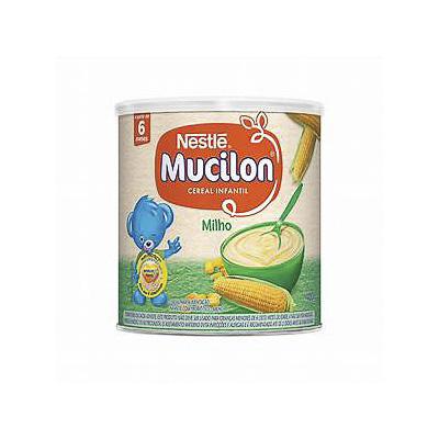 CEREAL INFANTIL MUCILON MILHO NESTLÉ 400G LATA