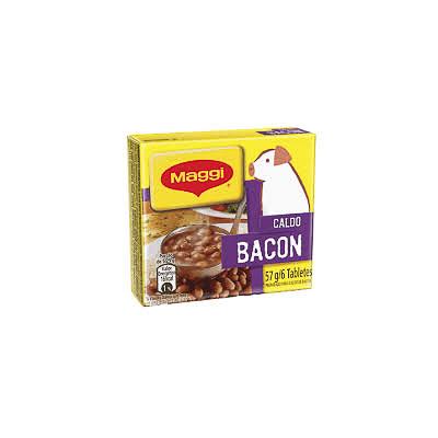 CALDO DE BACON MAGGI TABLETE 57G