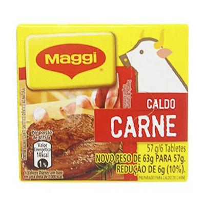 CALDO DE CARNE MAGGI TABLETE 57G