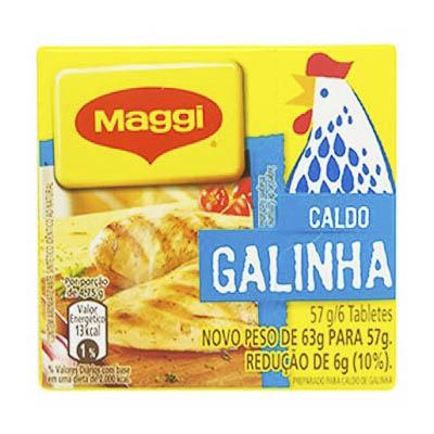 CALDO DE GALINHA MAGGI TABLETE 57G