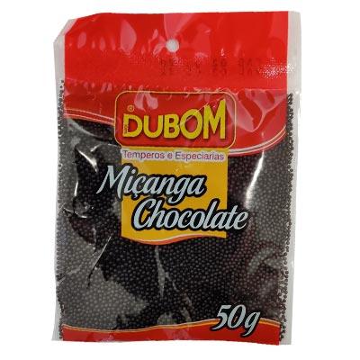 CONFEITO MIÇANGA CHOCOLATE DUBOM 50G