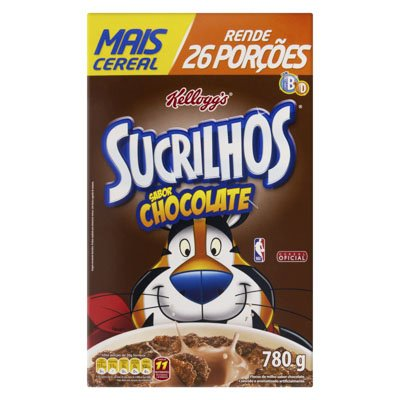 CEREAL SUCRILHOS CHOCOLATE 780G
