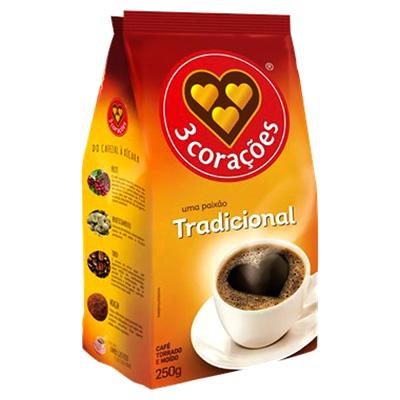 CAFÉ 250G 3 CORAÇÕES