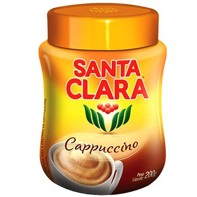CAFÉ CAPPUCCINO CÁLSSICO SANTA CLARA POTE 200G