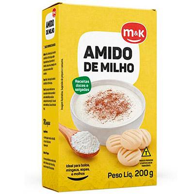 AMIDO MILHO 200G M&K