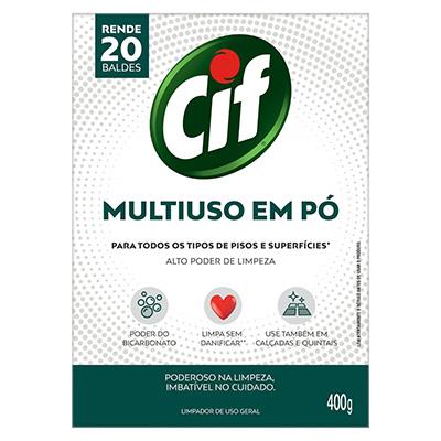 LIMPADOR DE USO GERAL MULTIUSO EM PÓ CIF 400G