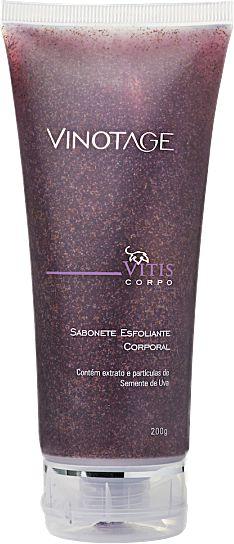 Sabonete Esfoliante Corporal Vinotage  200ml