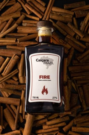 Caiçara Brazil Fire Cachaça Mista  750ml