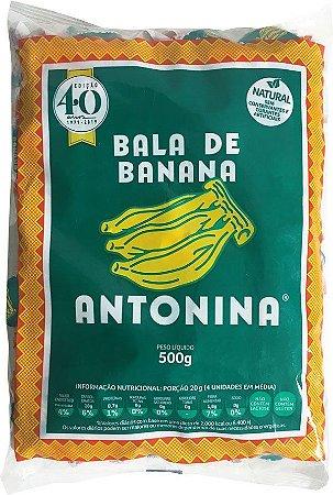 Bala de Banana Antonina 500g