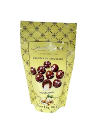 Sacré Doux Drageas de Chocolate e Licor de Marula 90g