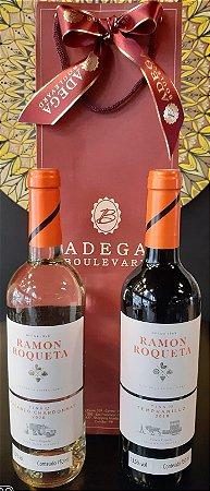 Kit Ramon Roqueta Tempranillo & Macabeo/Chardonay 750ml (P/Presente)