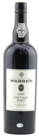 Warre's  Vintage Port 2003 750ml