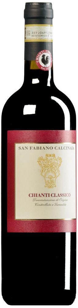 San Fabiano Calcinaia cChianti Classico 750ml