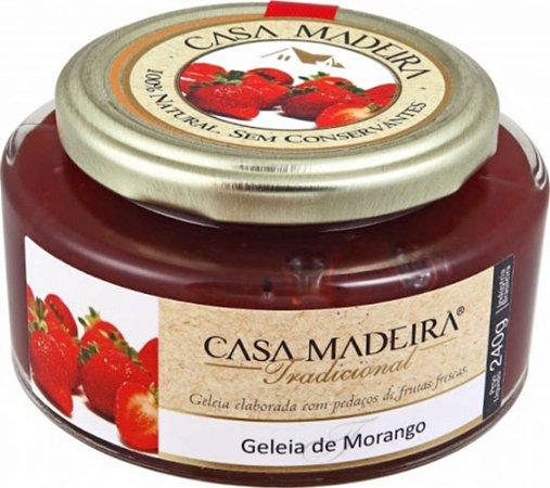 Casa Madeira Geléia De Morango  240G