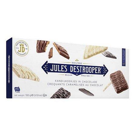 Jules Destrooper  Belgian Chocolat Thins  100g