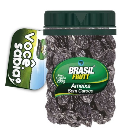 Brasil Frutt Ameixa Sem Caroço  200g