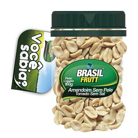 Brasil Frutt  Amendoim Sem Pele Torrado e Salgado  160g